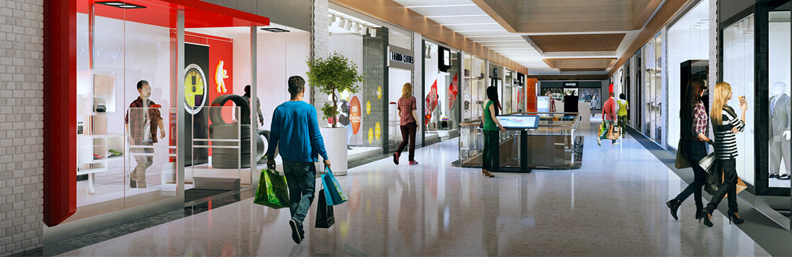 Ordu Alışveriş ve Yaşam Merkezi Alışveriş Alanları Perspektifleri