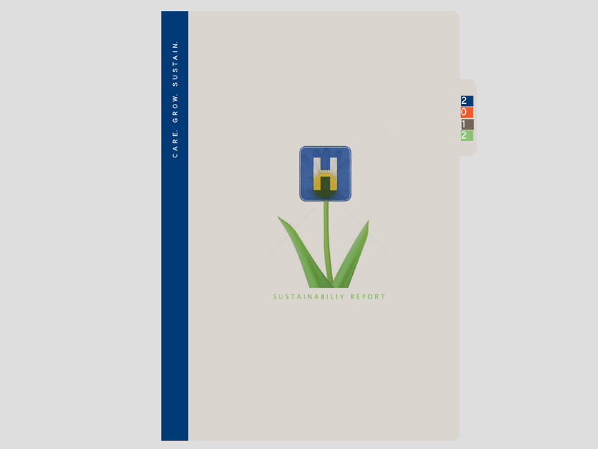 Proposed 2012 Sustainability Report for national healthcare giant Tenet Healthcare.