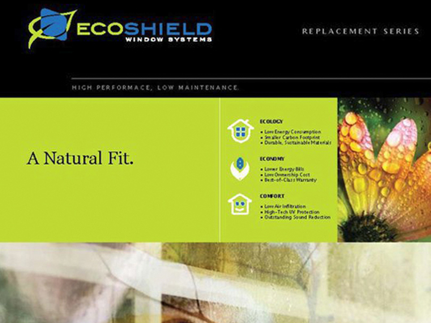 Brochure for Ecoshield Window Systems