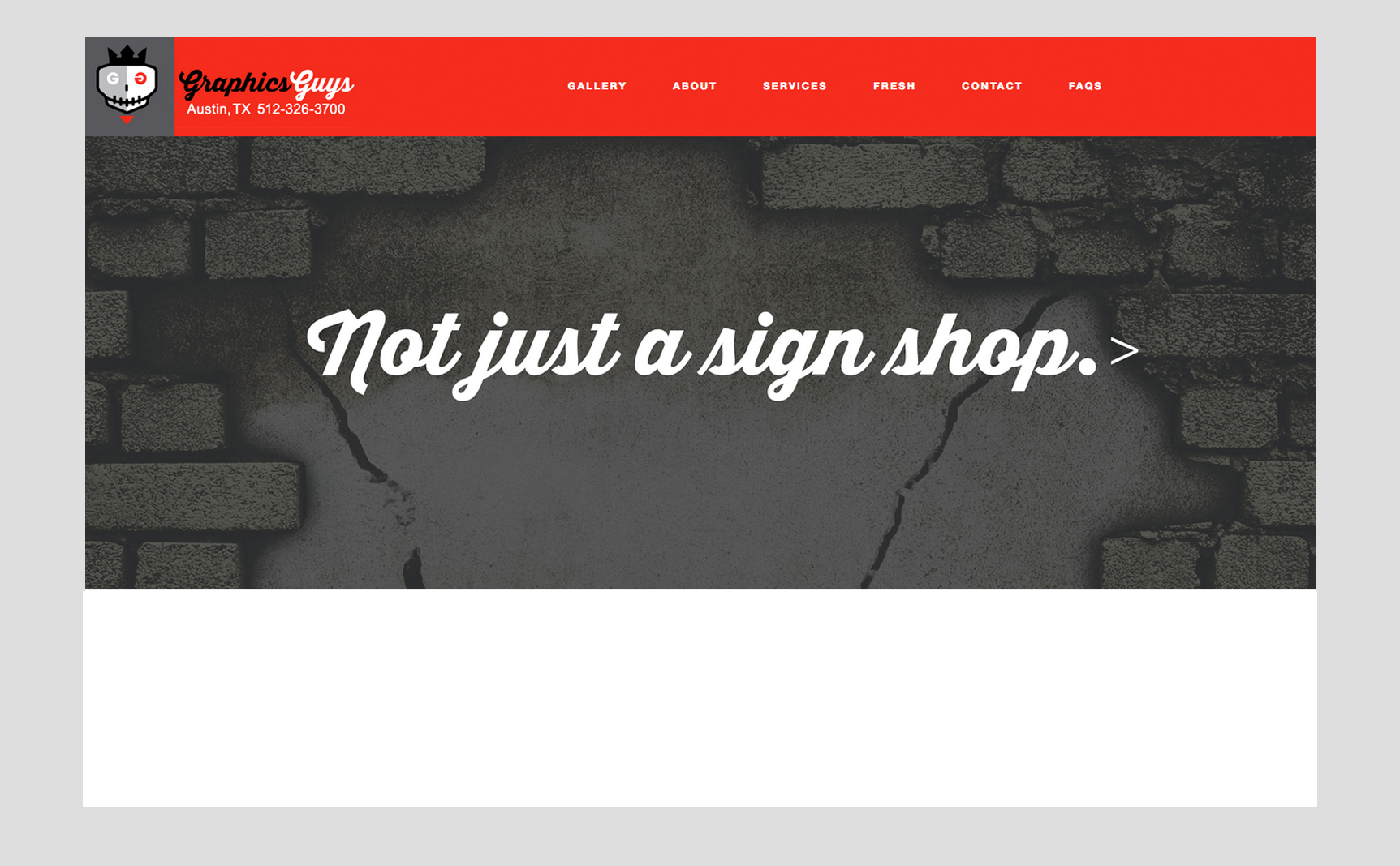 GraphicsGuys Website Design and Production