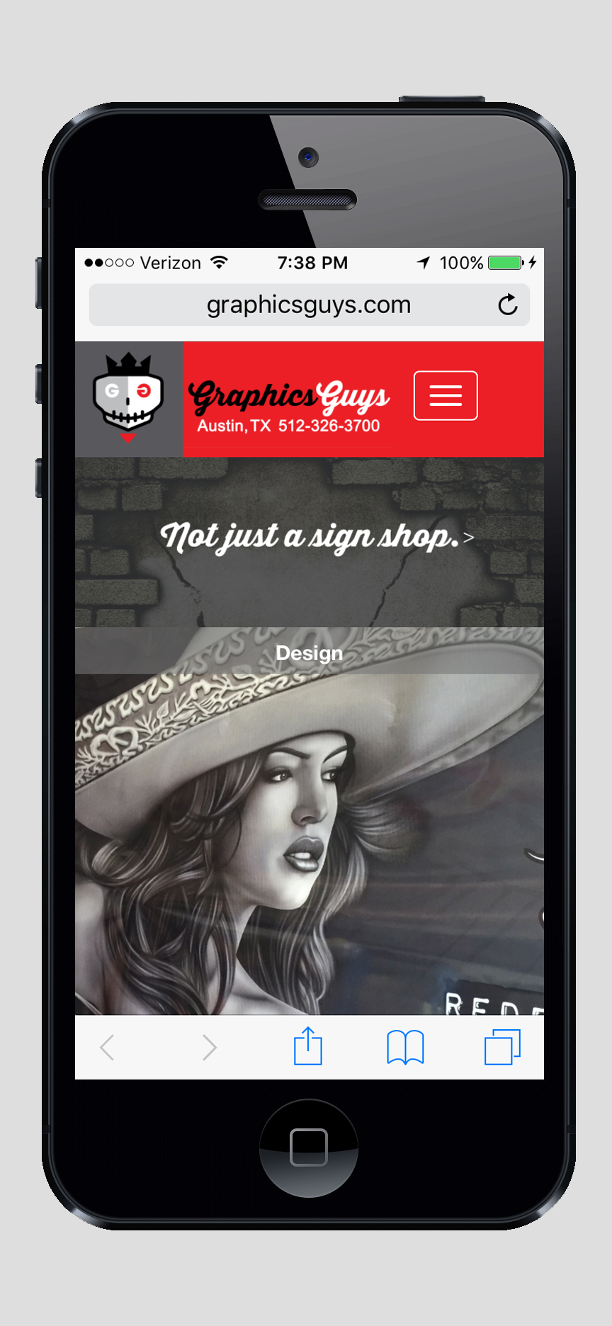 GraphicsGuys Responsive Website Design and Production