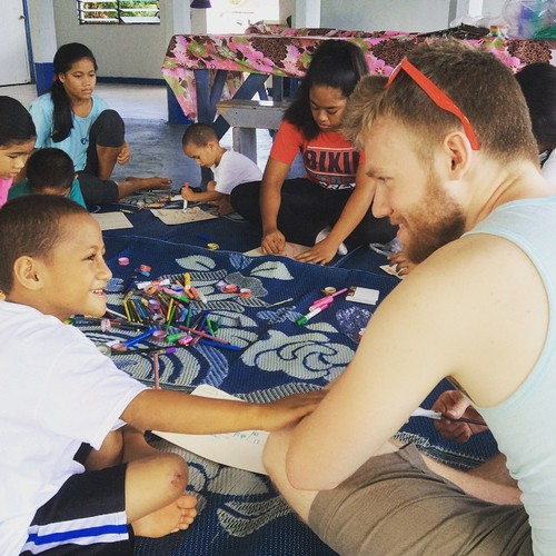 - In 2015 I was awarded a PRISM grant through Pacific University to oversee undergraduate independent research. Aaron Ferguson conducted independent ethnographic research in American Samoa on how youth imagine their futures. He also conducted archival research at the Nelson Library in Apia. Aaron collected articles published from 2013-2015 in the daily newspaper, the Samoa Observer, on food, fat, and fitness to supplement my corpus of news media. He presented his research at the Society for Applied Anthropology meetings in Vancouver, BC in 2015. Aaron now works as a Clinical Research Assistant at Aggregate Analytics Inc.