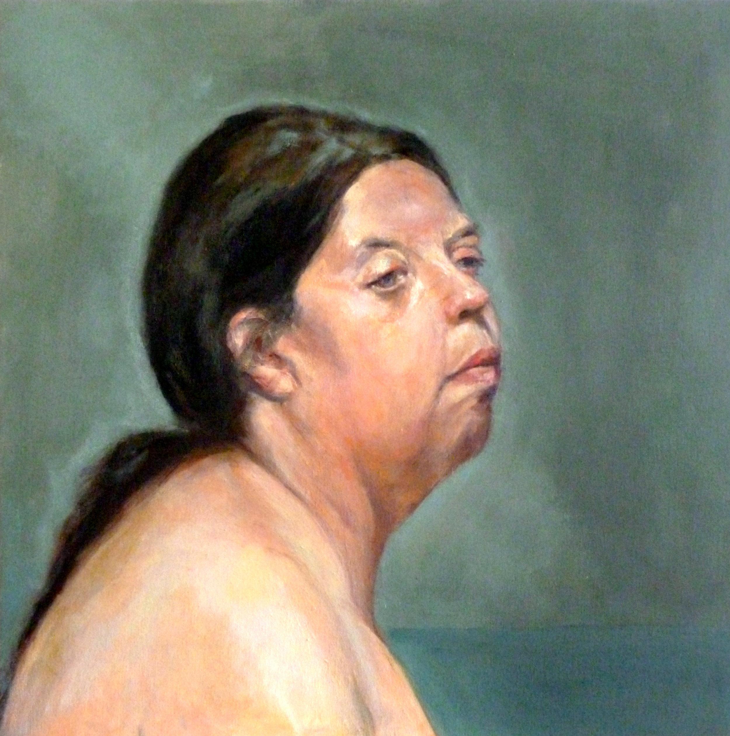 "Betty  Oil on canvas 24x24"""