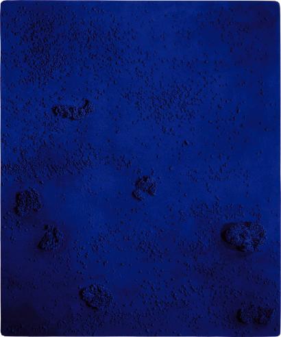 Relief éponge bleu sans titre (RE 40), 1960.png