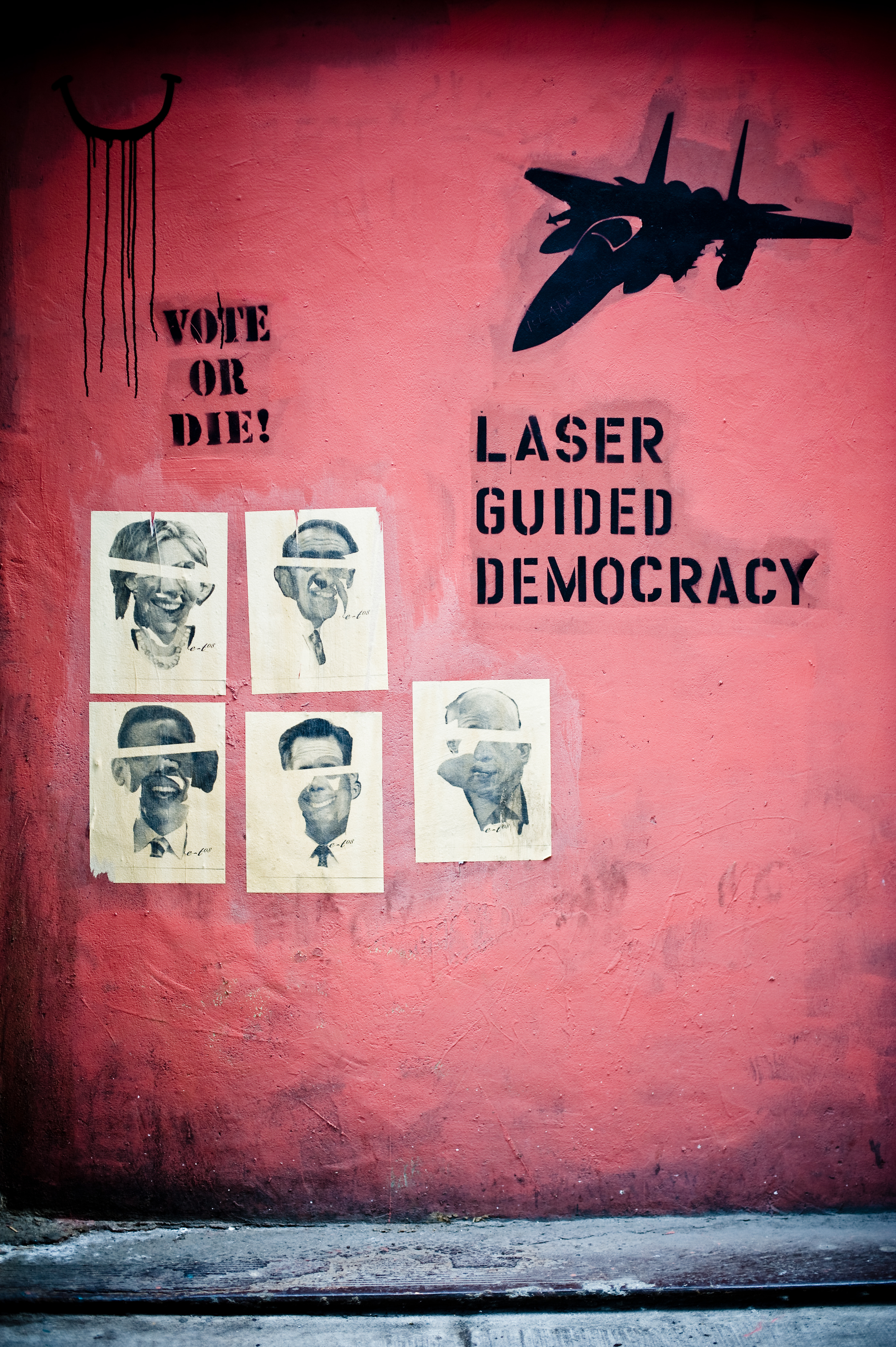 Laser Guided Democracy