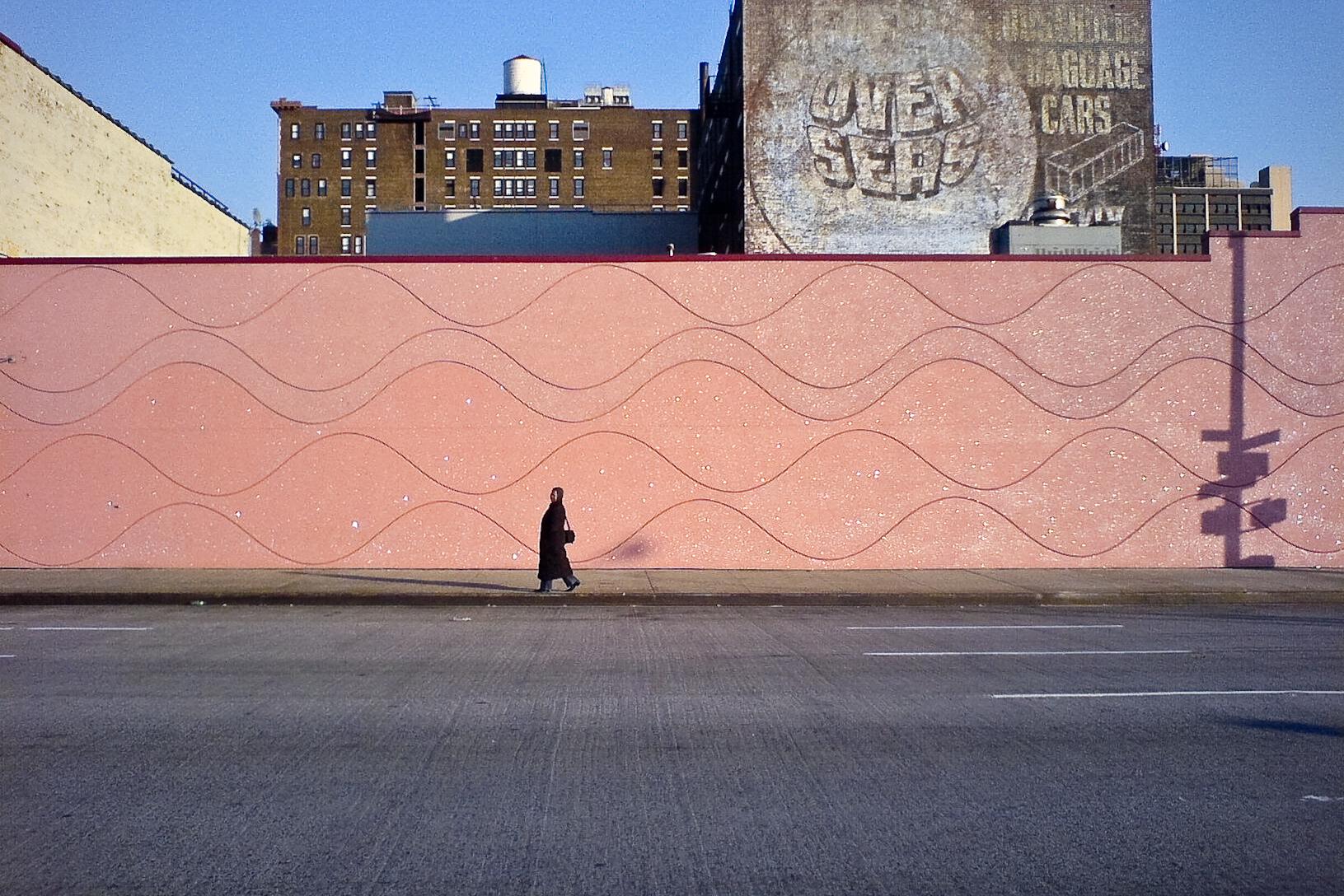 Pink Wall Walker