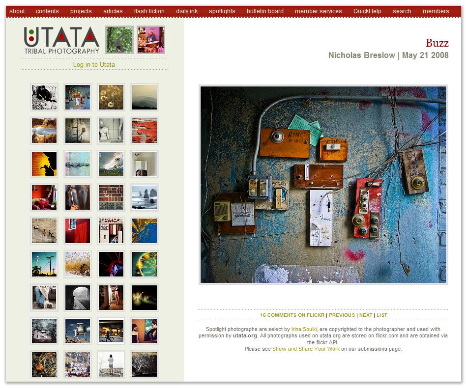 Utata Spotlight