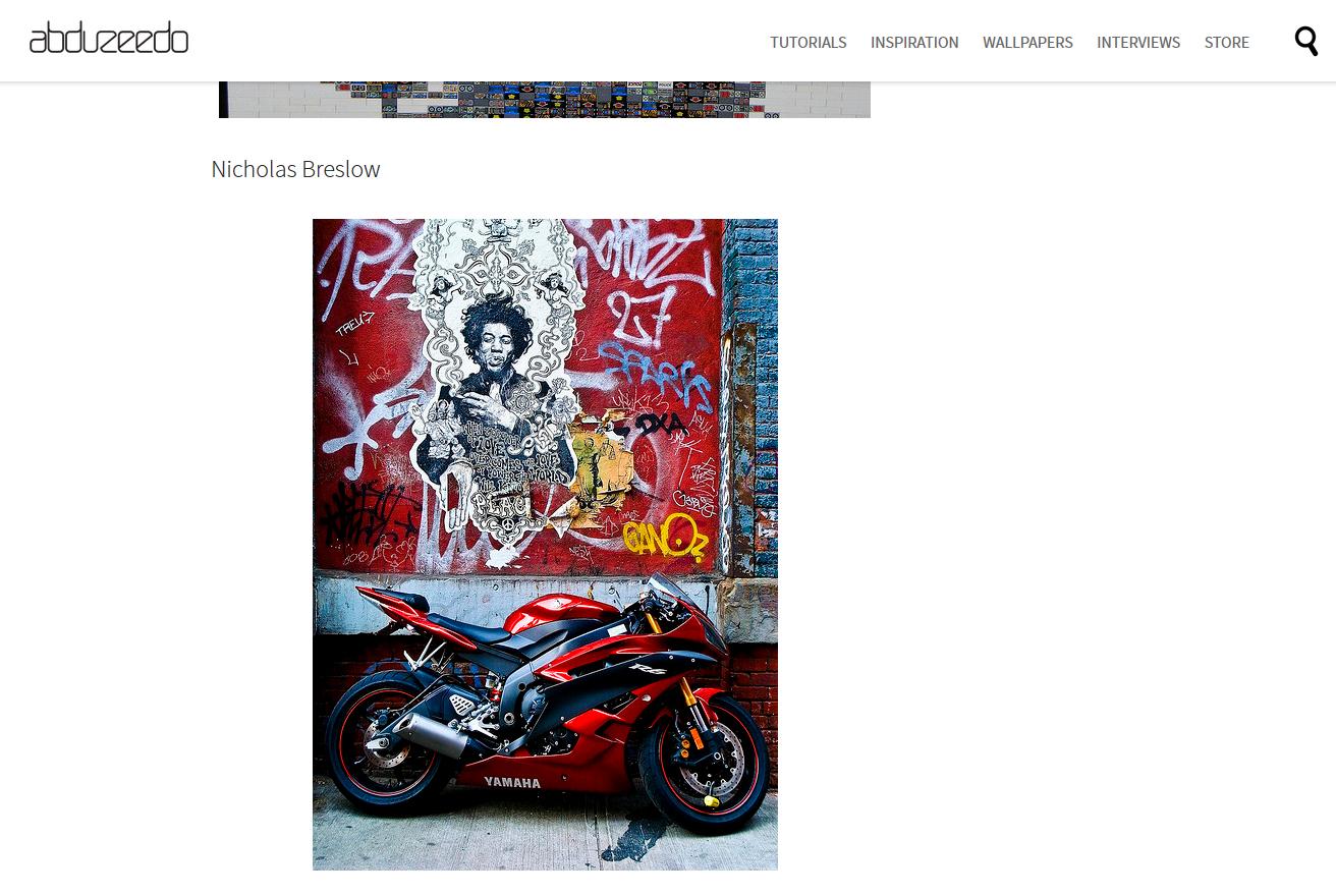 Abduzeedo: 40 Years Without Jimi Hendrix