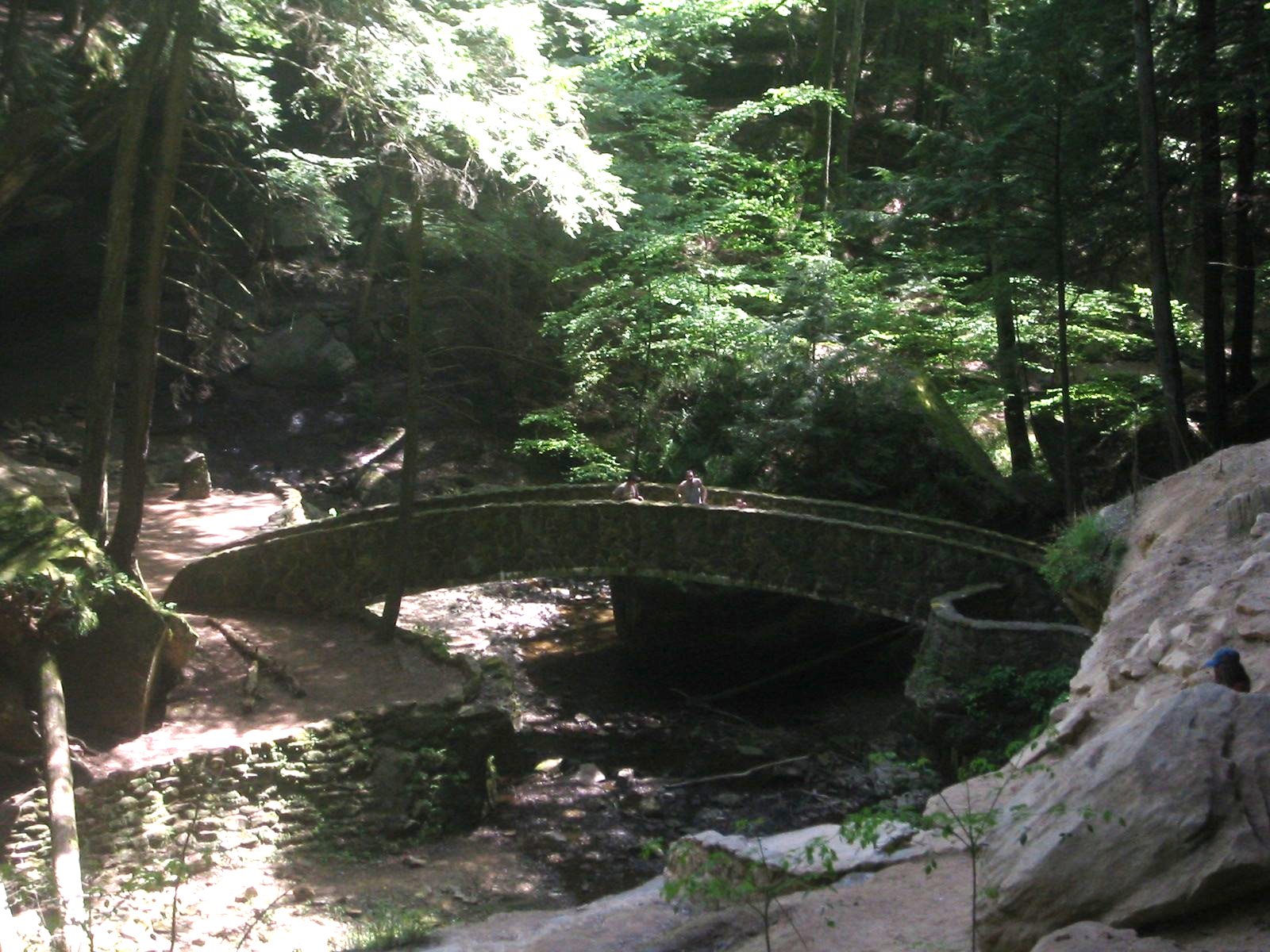 Bridge in Hocking Hills