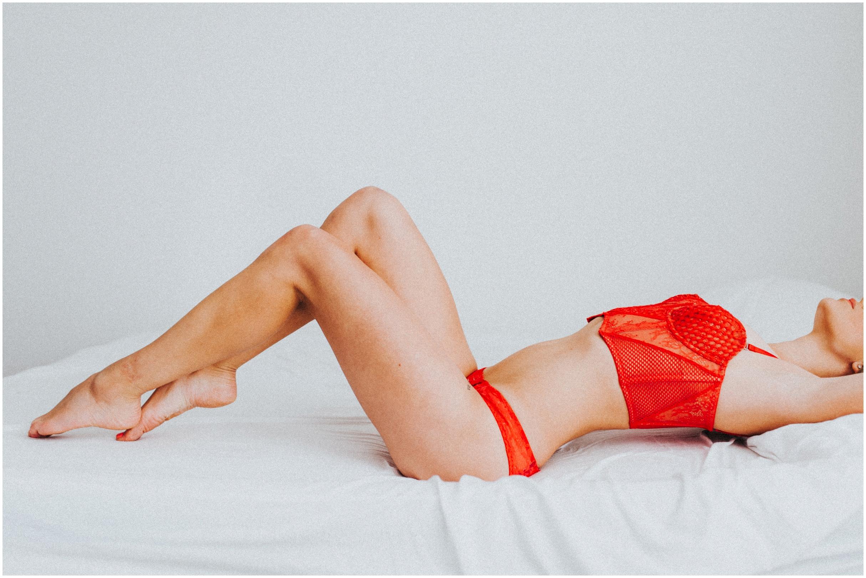 Boise Idaho Boudoir Photographer Natural Light Boudoir Posing Ideas Lingerie Valentine's Day Gift Victoria Secret