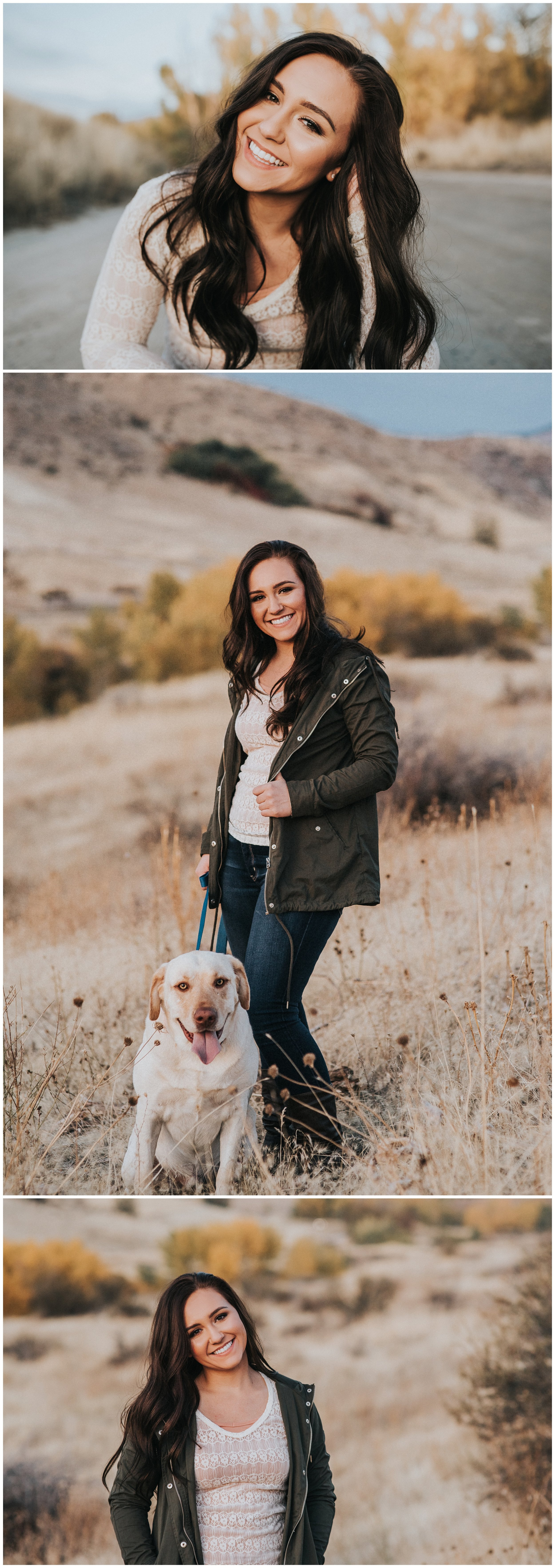Boise Senior Photographer Compass Charter Class of 2017 Downtown Boise Military Reserve Fall Senior Pictures Girl Laughter