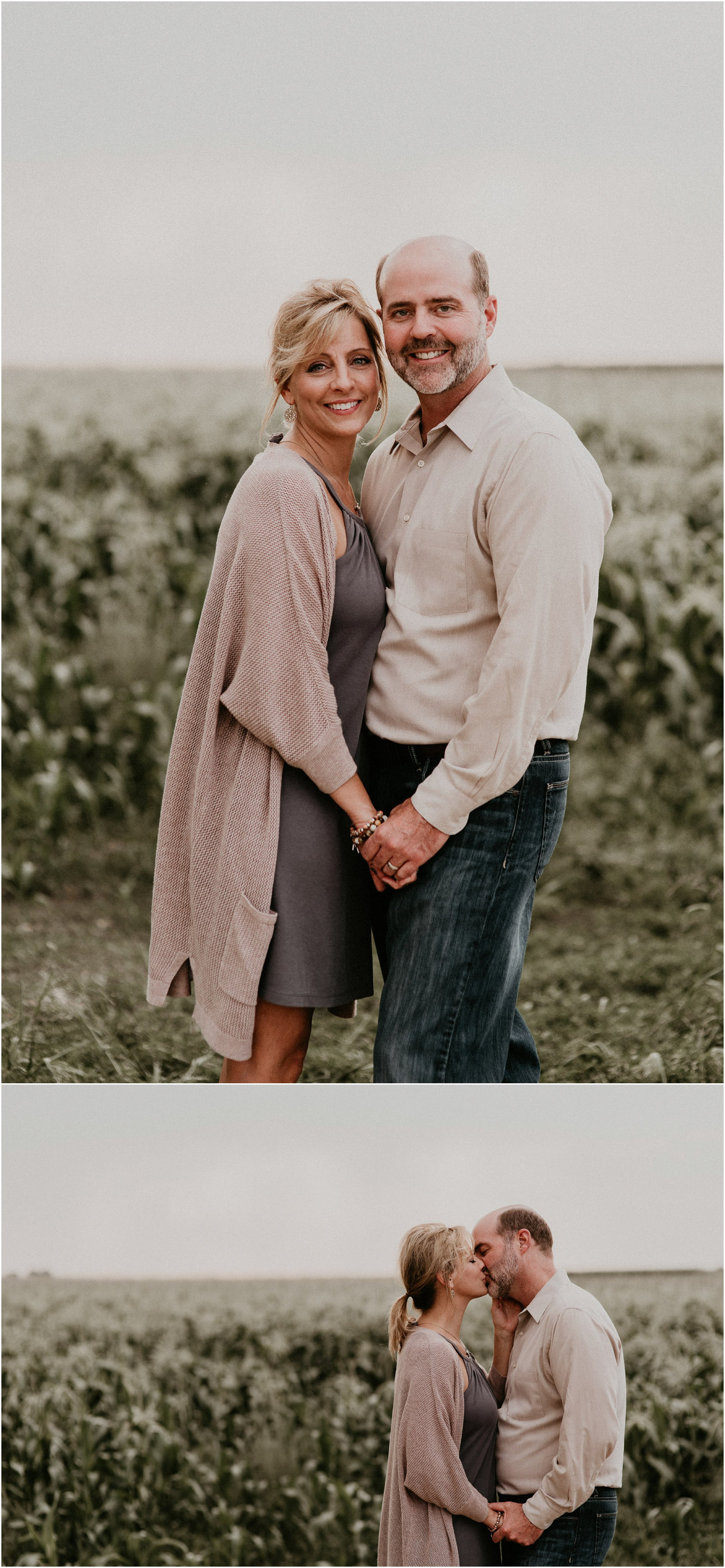 Boise Senior Boudoir Wedding Photographer Family Pictures Idaho Couples Married Corn Field Makayla Madden Photography