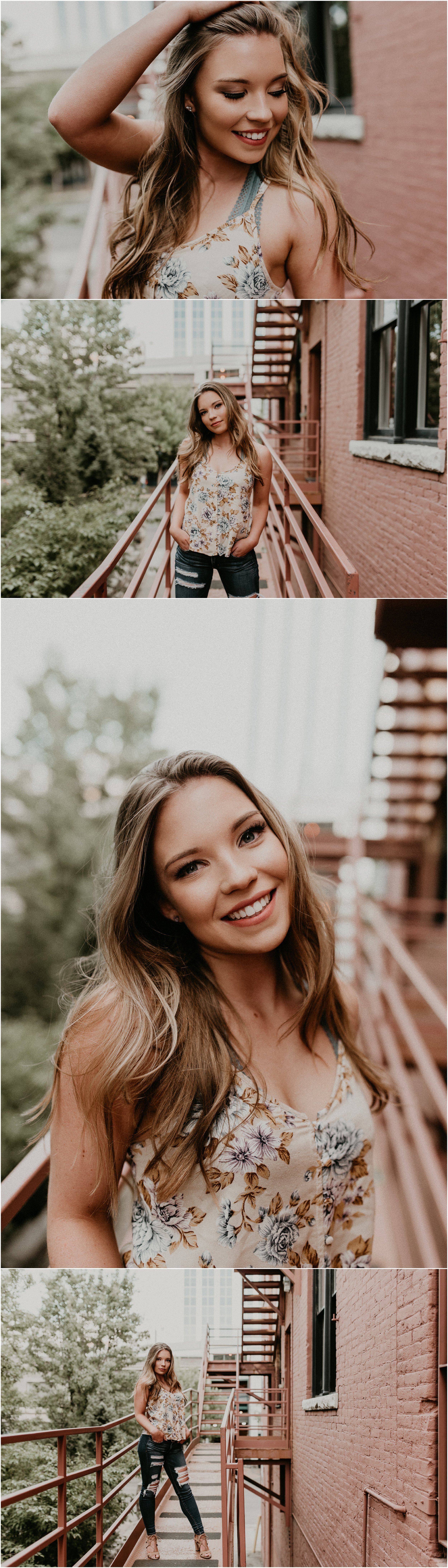 Makayla Madden Photography Boise Senior Photographer Fall Senior Pictures Urban Downtown Boise Outfit Location Ideas