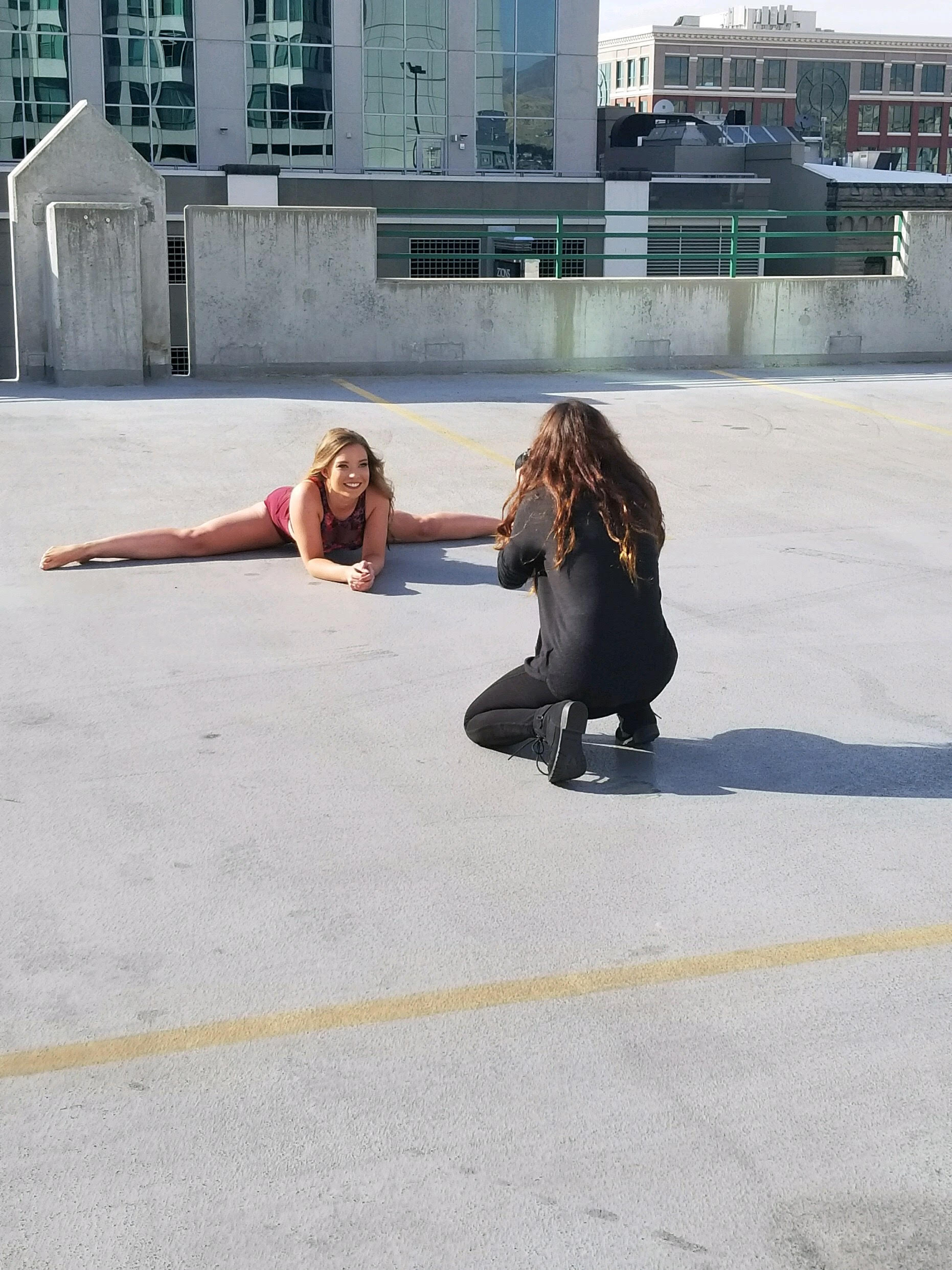 Makayla Madden Photography Boise Senior Photographer Senior Pictures Downtown Boise Mountain View Dancing Dance Inspiration Behind the Scenes