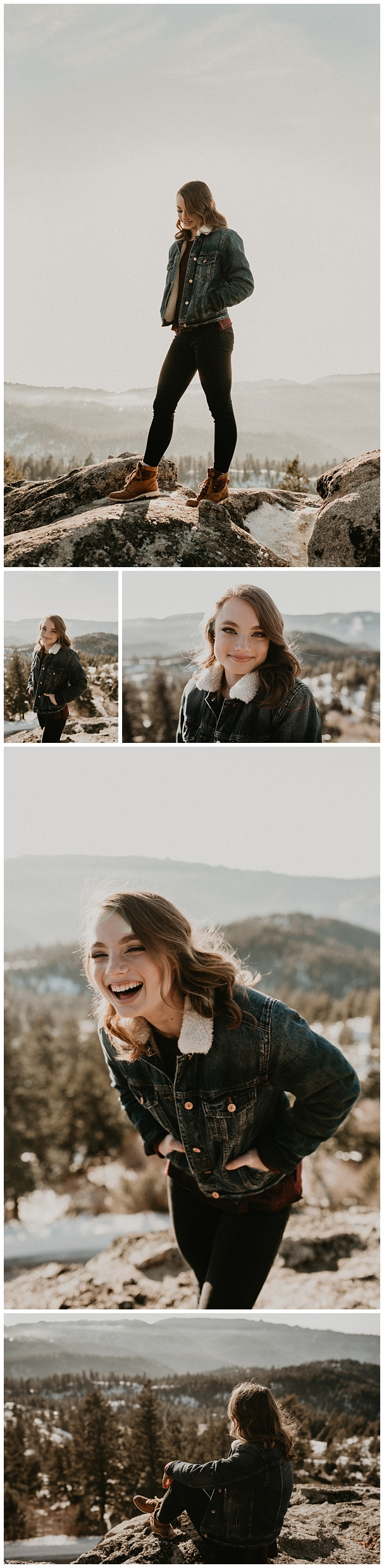 Boise Senior Photographer Meridian Photographers Makayla Madden Senior Pictures Bogus Basin Mountain Ski Resort Worship Faith Adventure Mountains Portraits Winter Senior Session