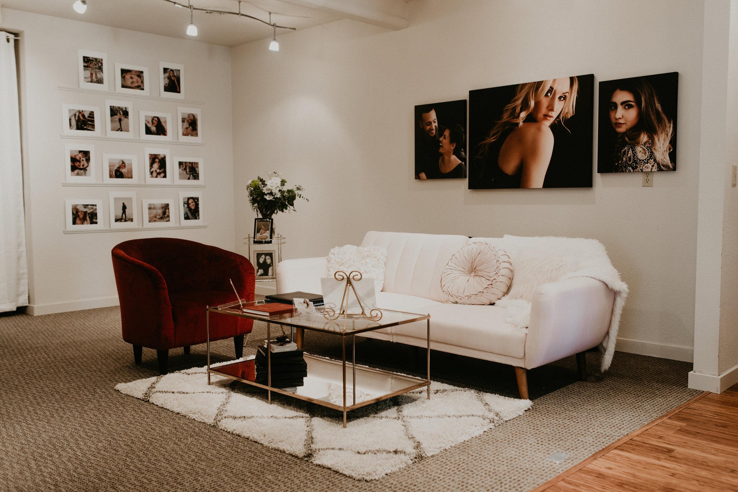 Boudoir by Kayla Boise Boudoir Photographer Makayla Madden Photography Luxury Portrait Experience Studio 870 Boise Reveal Room