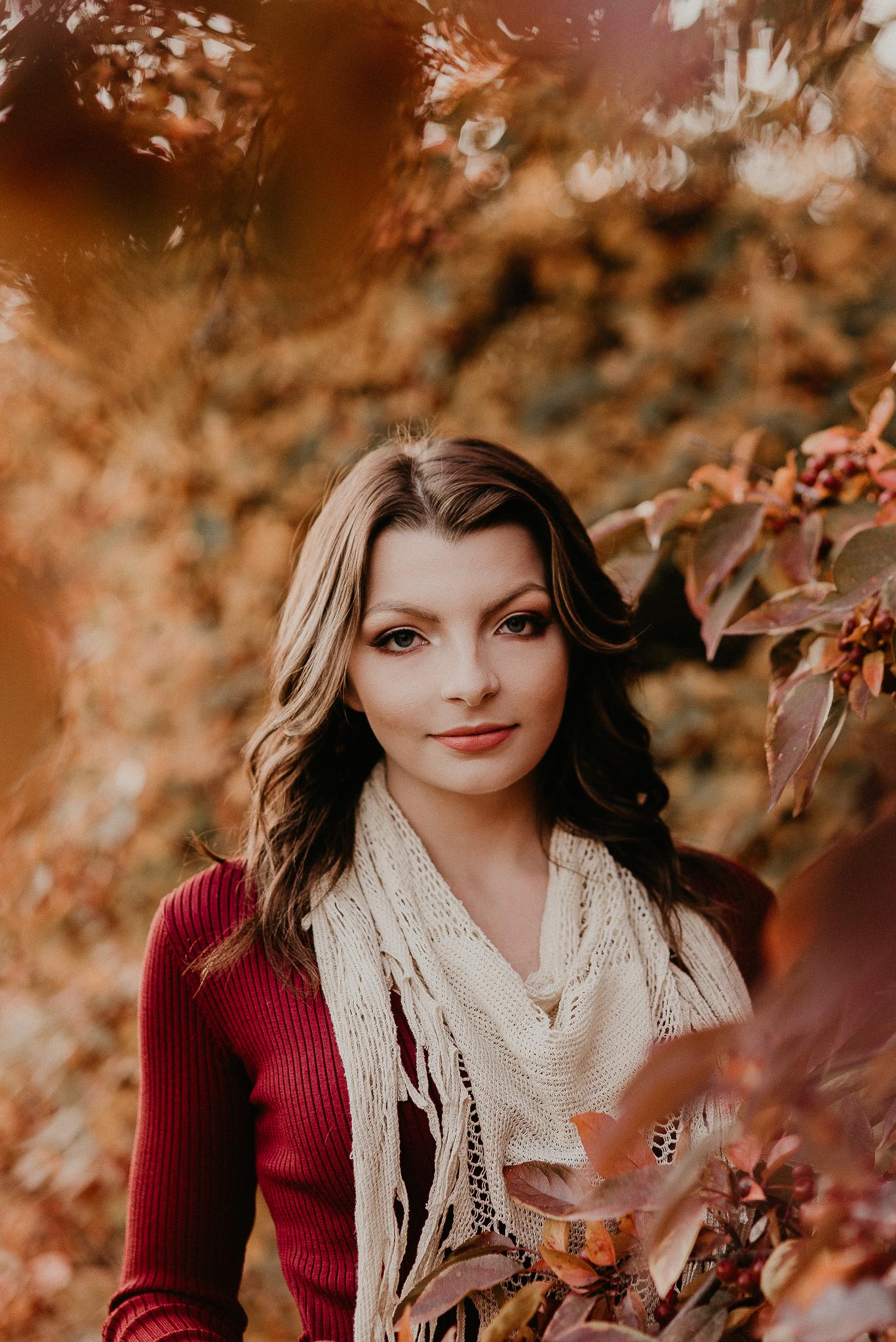 Boise Senior Photographer Makayla Madden Photography Best Unique Award Winning Fall Winter Senior Pictures Kuna Meridian Senior Photography