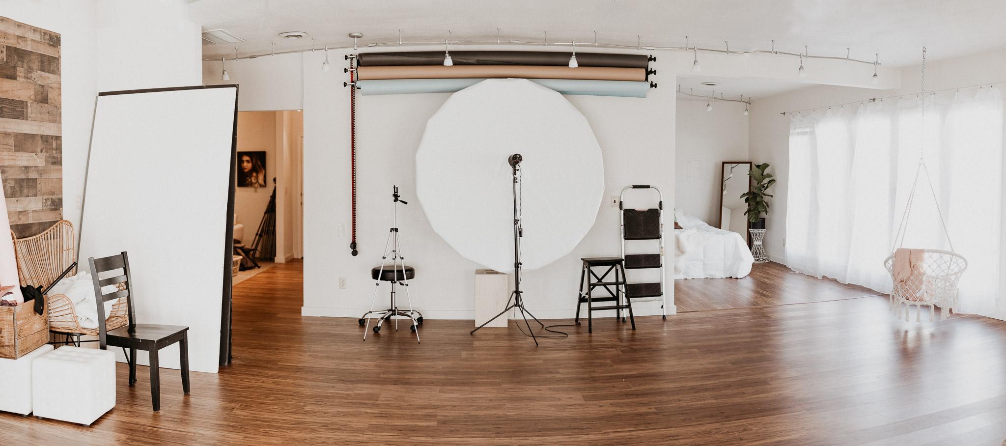 Studio 870 Boise Studio Rental Boise Boudoir Photographer Boudoir by Kayla Boudoir Studio Natural Light Inspo Ideas Meridian Natural Light Photography Studio
