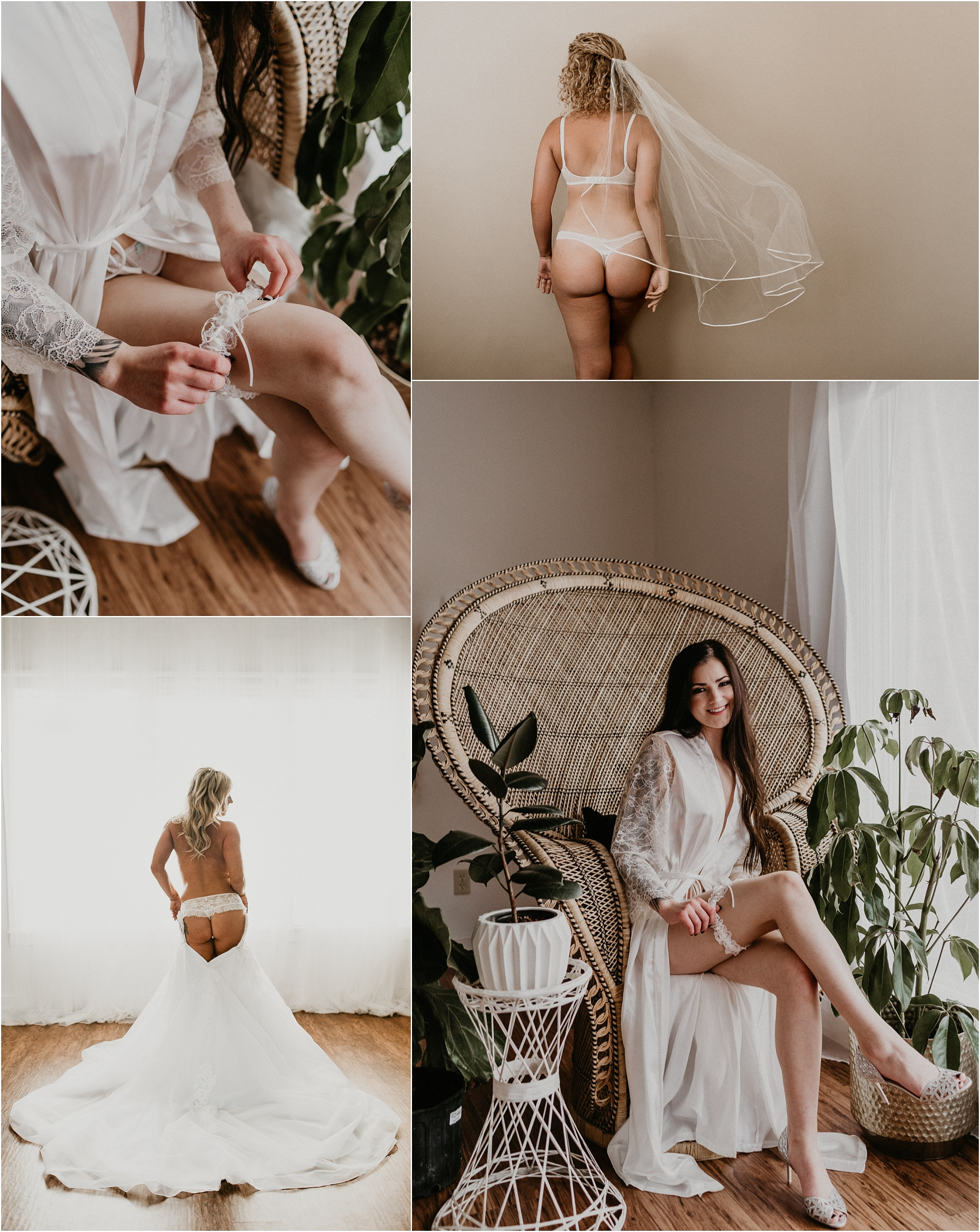 Boise, Idaho Boudoir Photographer Meridian Photographers Bridal Boudoir Elegant Veil Shots Inspiration Boise Wedding Photographer Intimate Portraits Wedding Dress Ideas Bridal Gifts Boho Studio Peacock Chair Photography Bride Portraits
