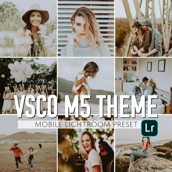 VSCO CAM mobile presets m5 best mobile presets film like