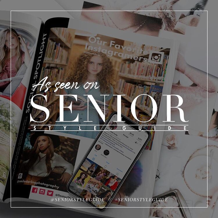 Senior Style Guide Badge Senior Photographers Idaho Award Winning Featured Best
