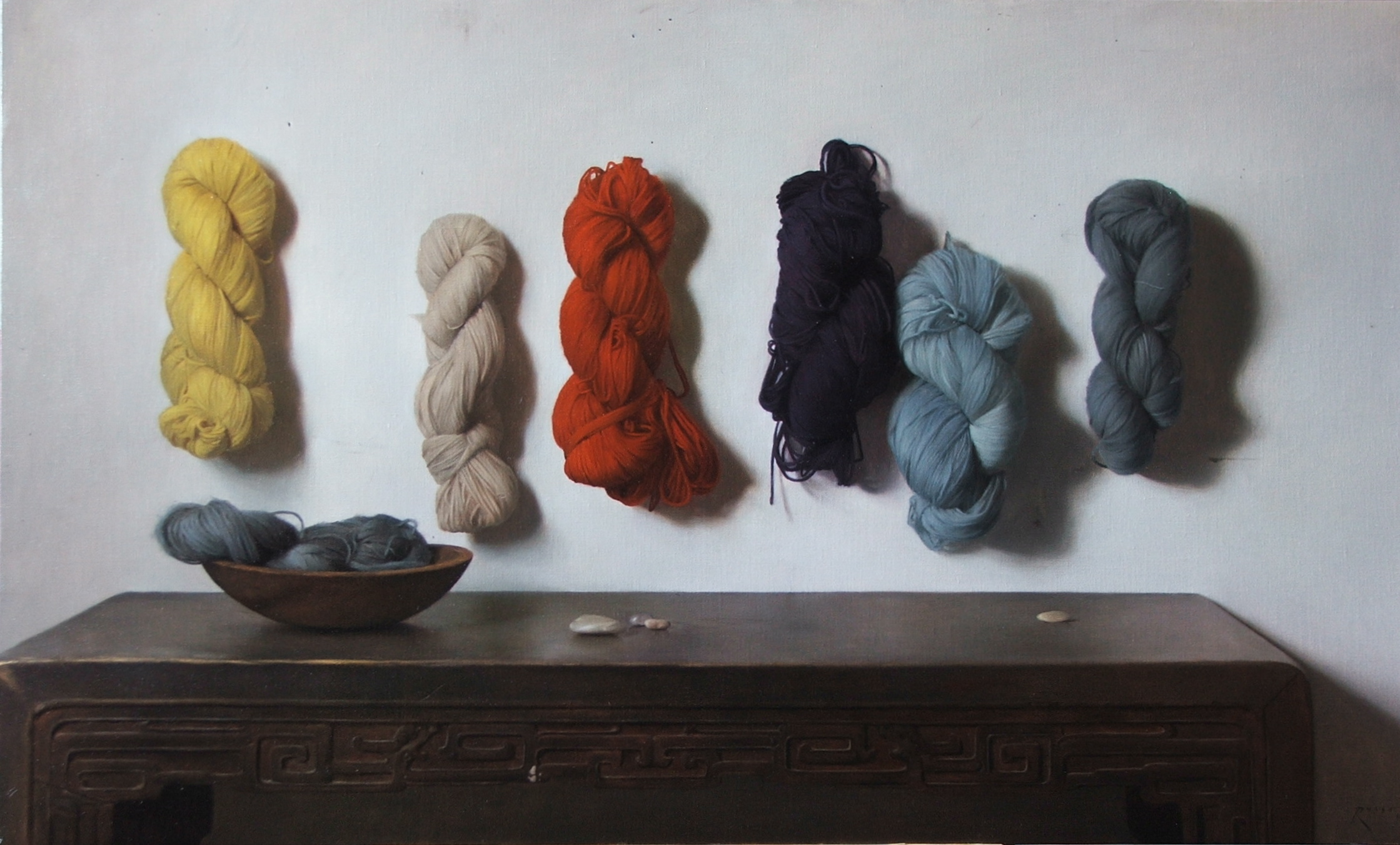 Colored Yarns #1