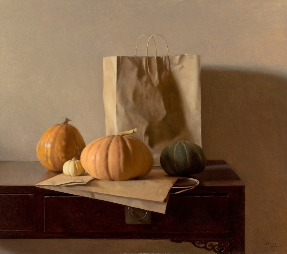 Gourds and Brown Paper Bags