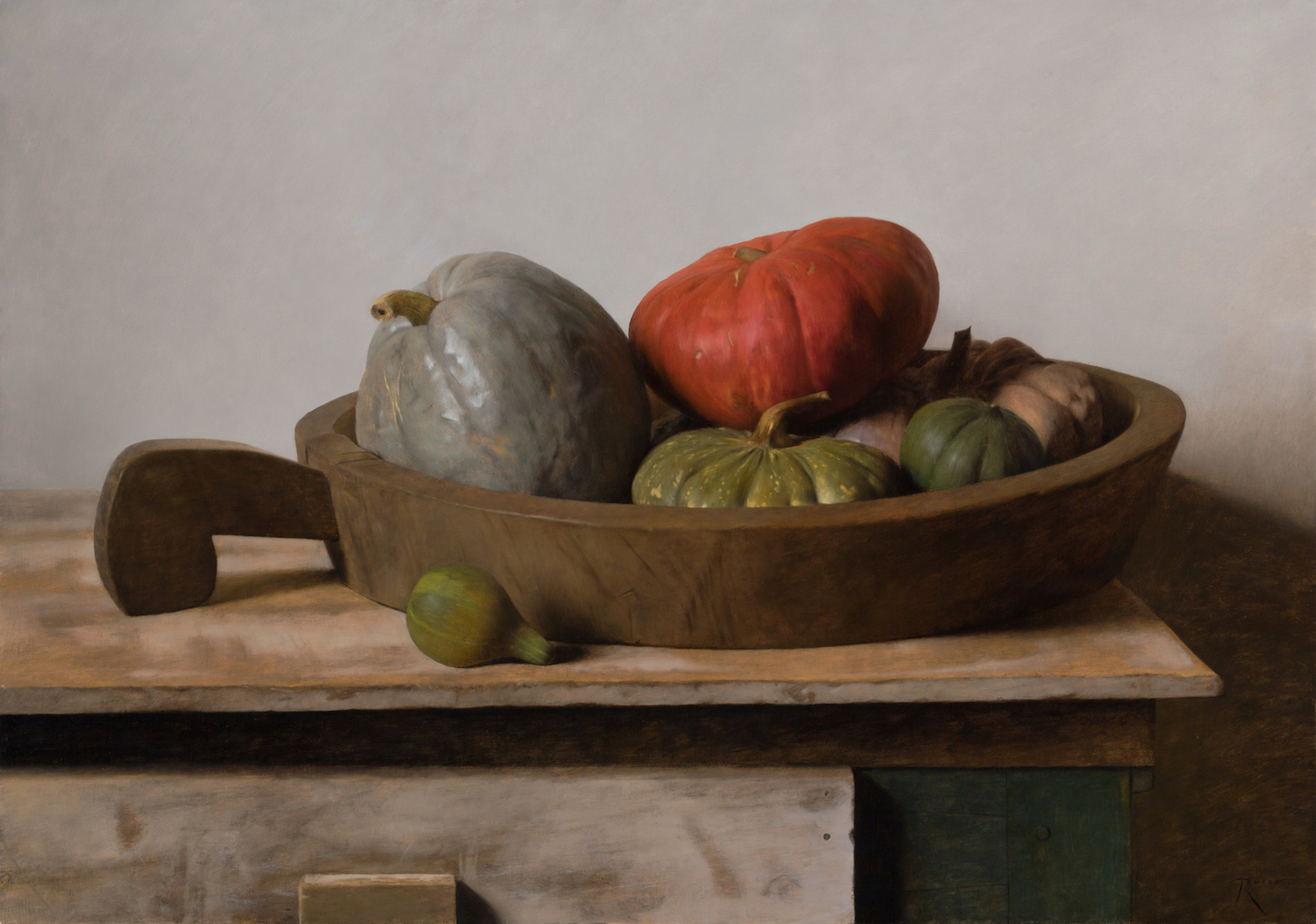 Gourds and Rice Bowl