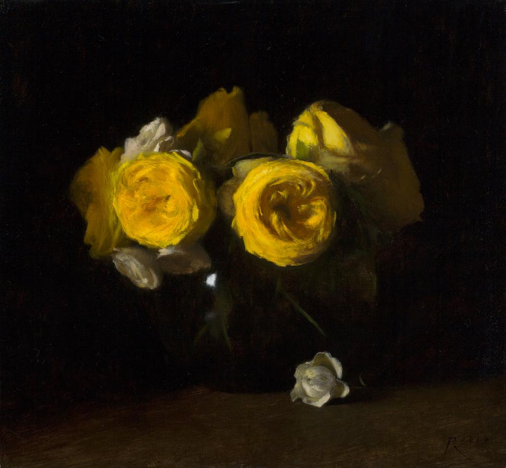 Yellow Catalina Roses