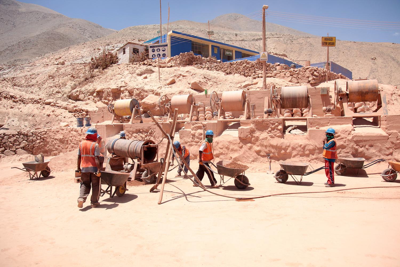 Aurelsa Artisnal Mine in Peru Fairmined Fairtrade gold mine from FairSources.jpg