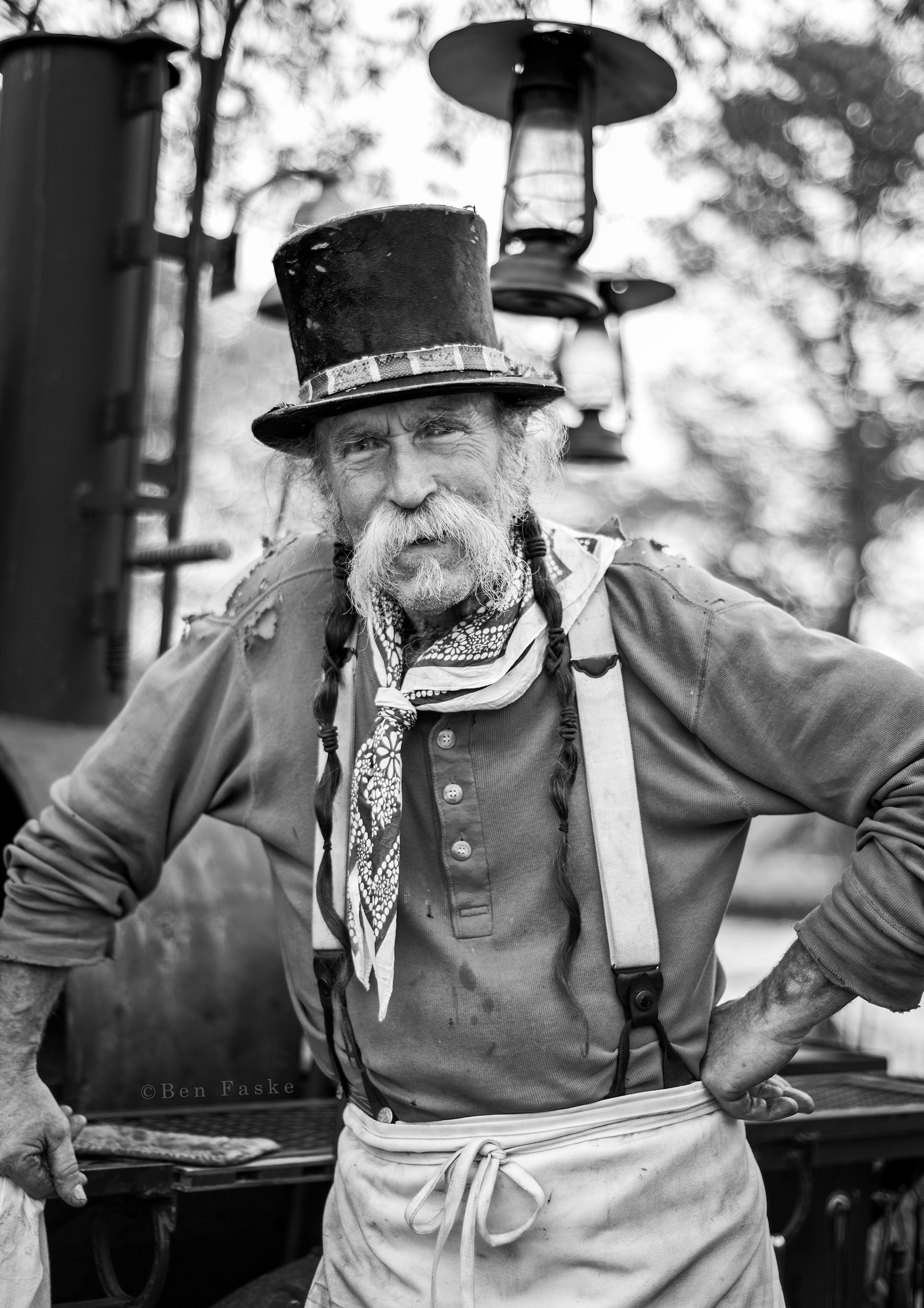 "Talk about character, this guy had it all. He totally reminded me of Bill ""the Butcher"" Cutting played by Daniel Day-Lewis in the movie Gangs of New York."