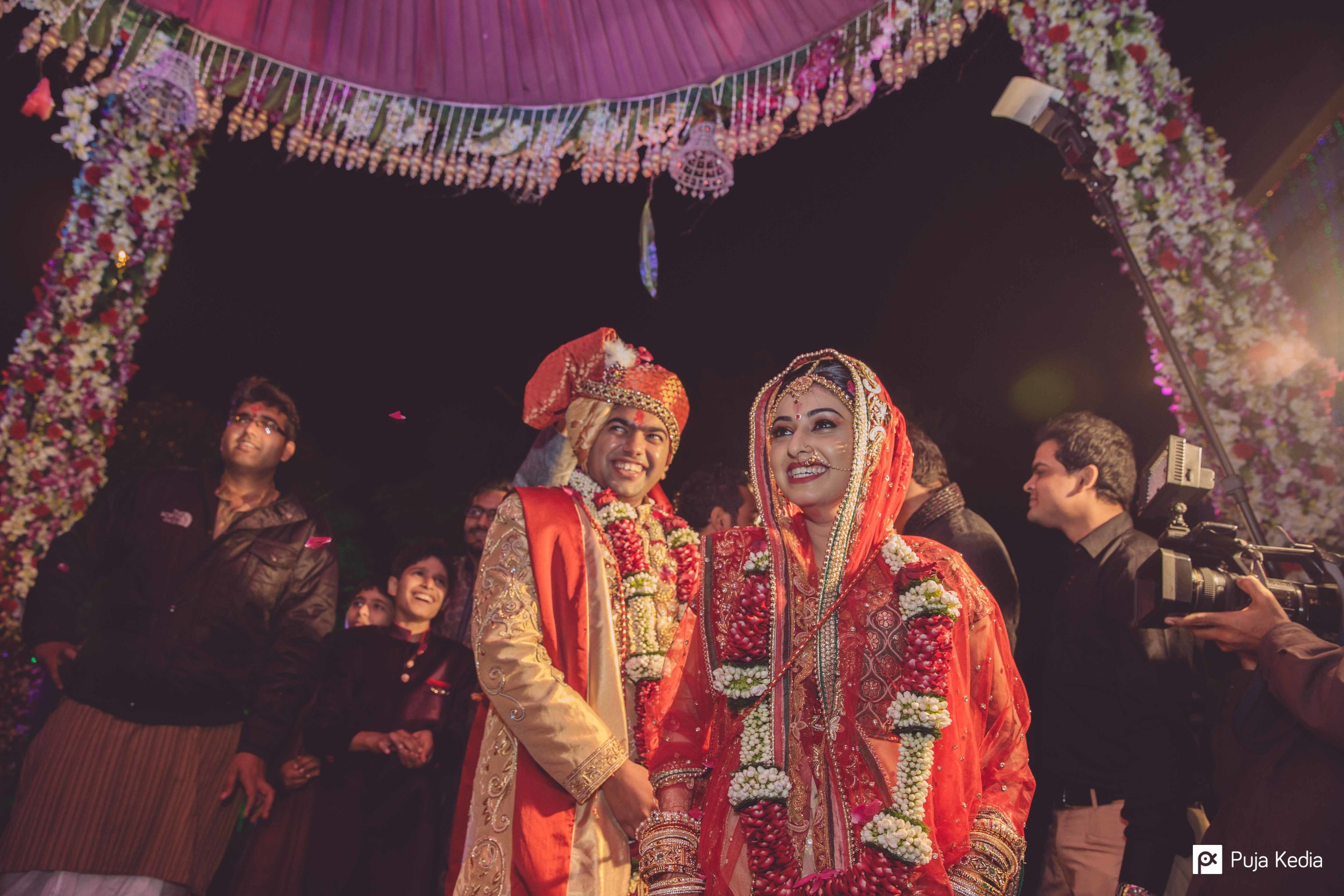 The groom also recites mantras which express his heart's desire and seeks the loving support of his wife.