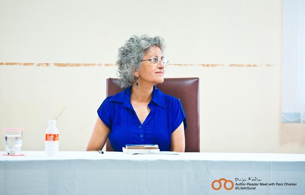 Rani Dharker at Bookoholics Author-Reader Meet