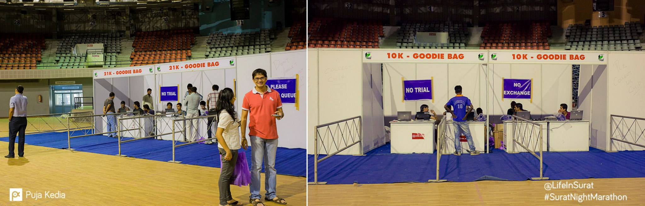 The Expo. #PreRaceEvent #IndoorStadium