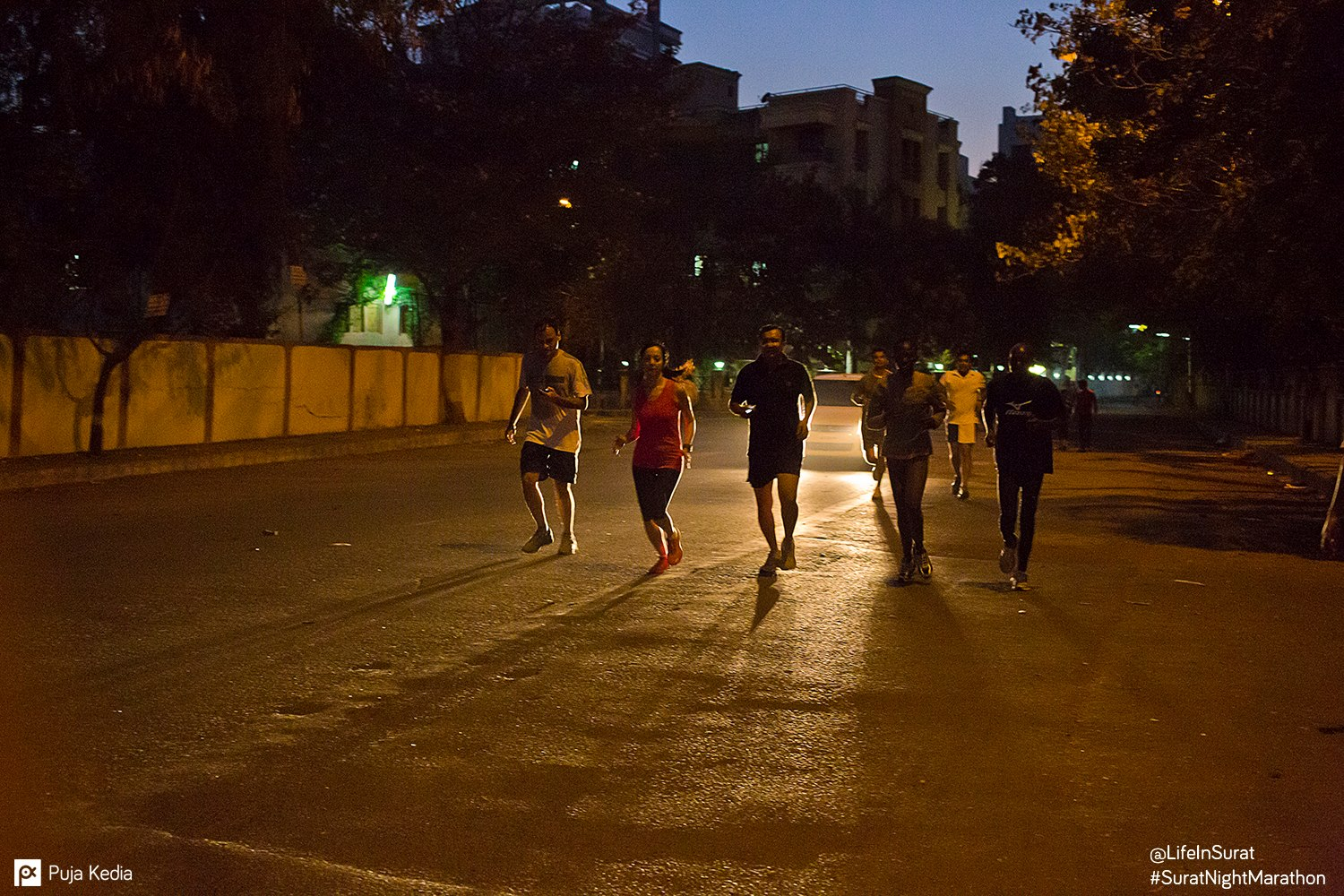 A small informal jog with International Runners. #PreRaceEvent.