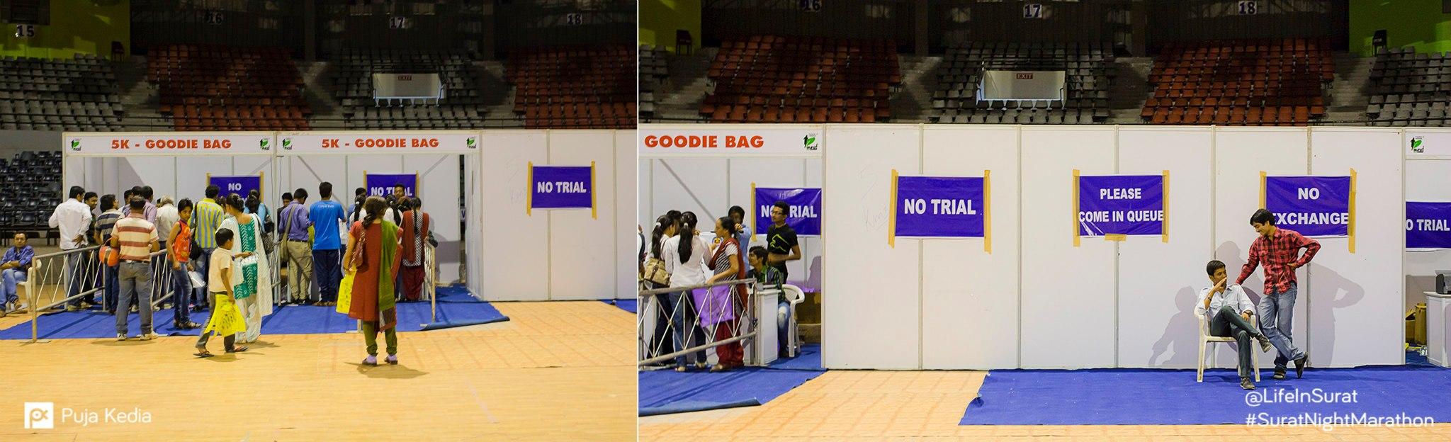 At the Expo. #PreRunEvent #IndoorStadium