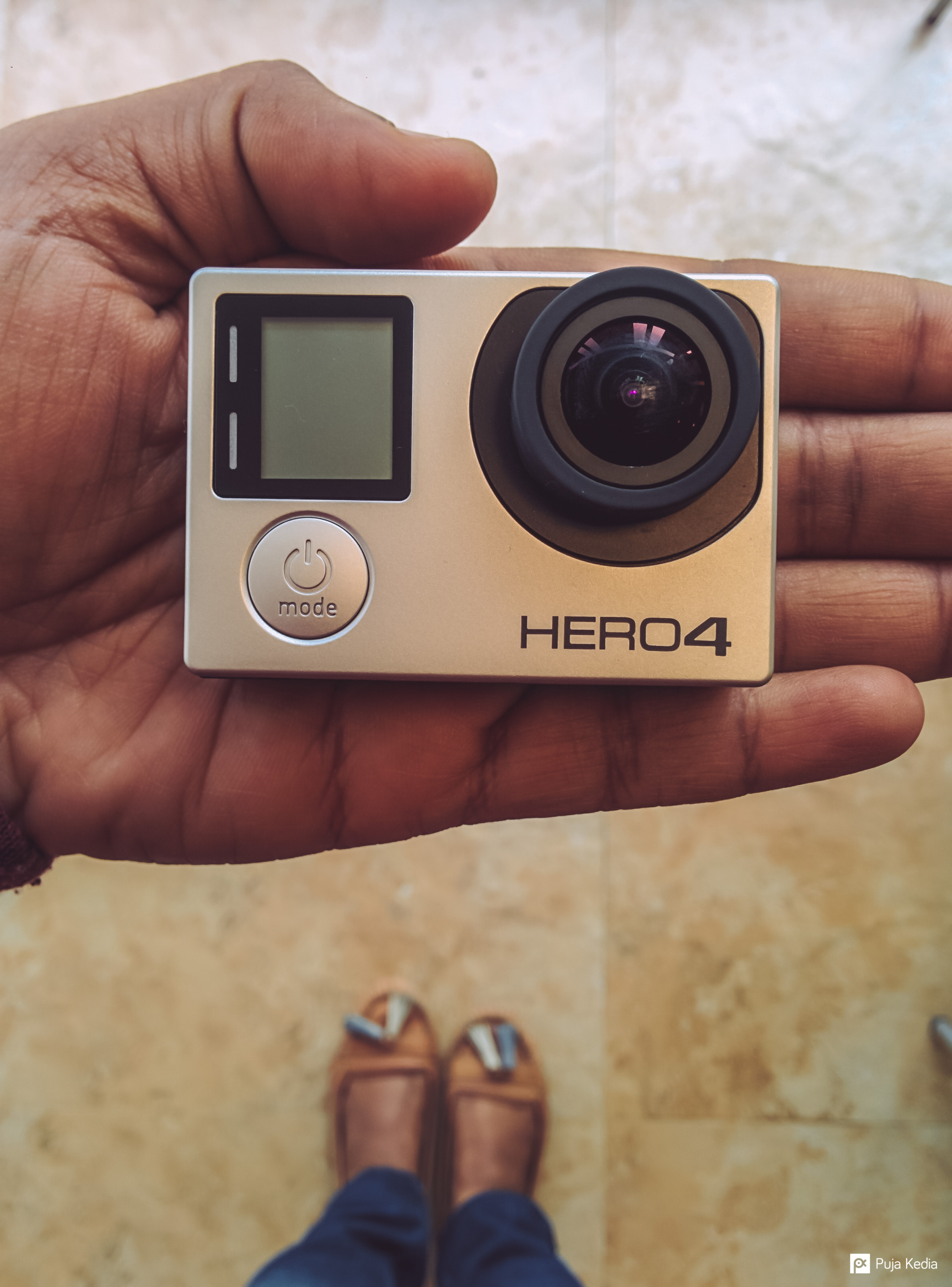 The Shiny new GoPro!