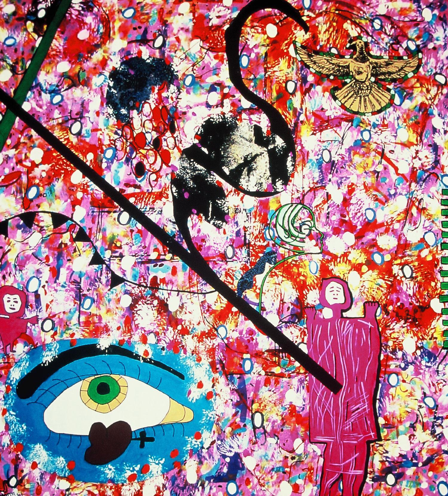 """Blue Eyes"" by Liz (Perman) Nehdi, 2003"