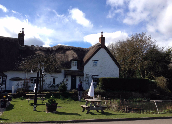 Our first stop: The Nut Tree Inn