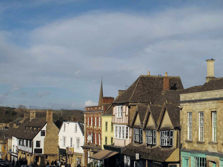 Not the most attractive name, but Burford is an adorable town full of pubs, tea shops and antique stores