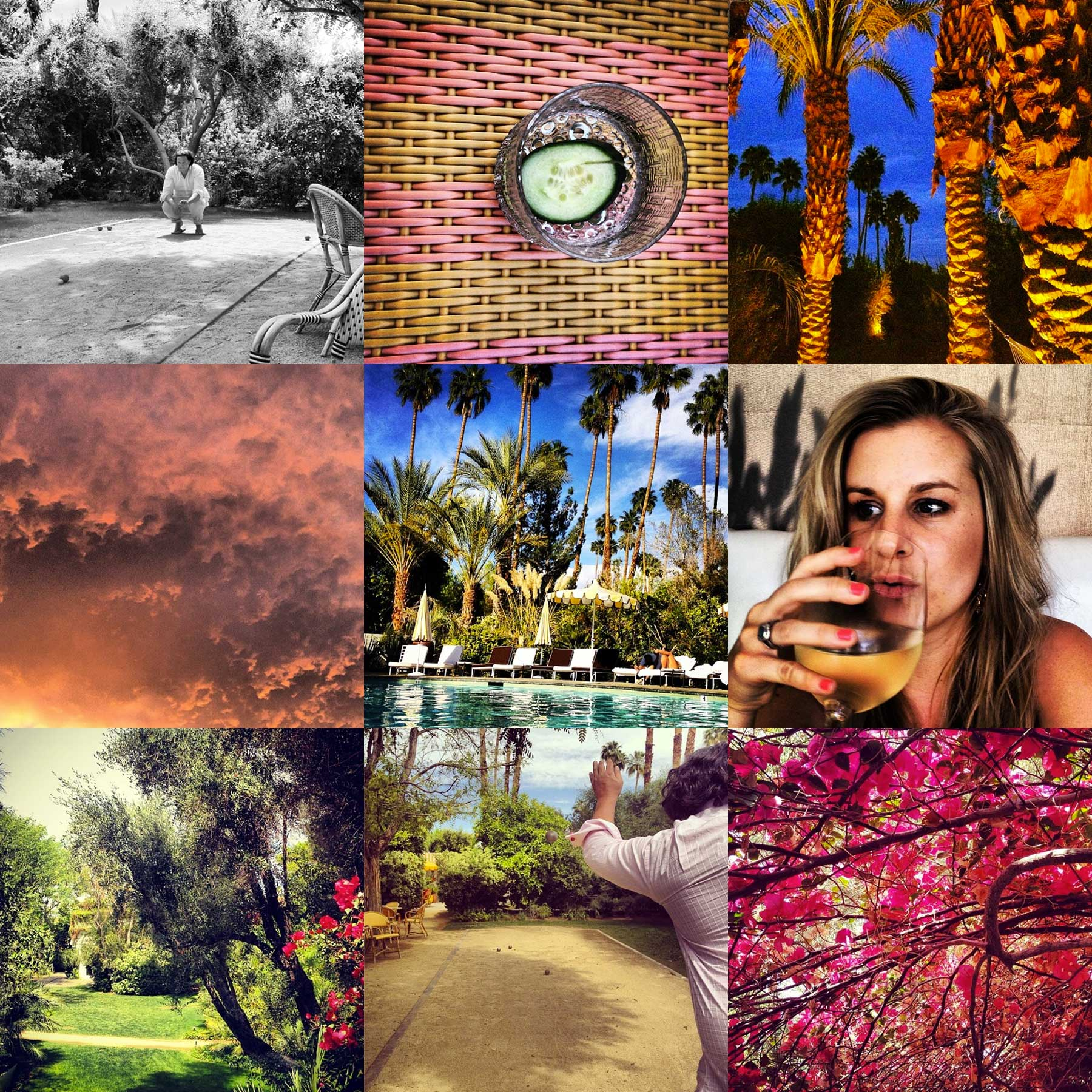 Leisure + Natural Beauty in Palm Springs, Liz Nehdi 2014