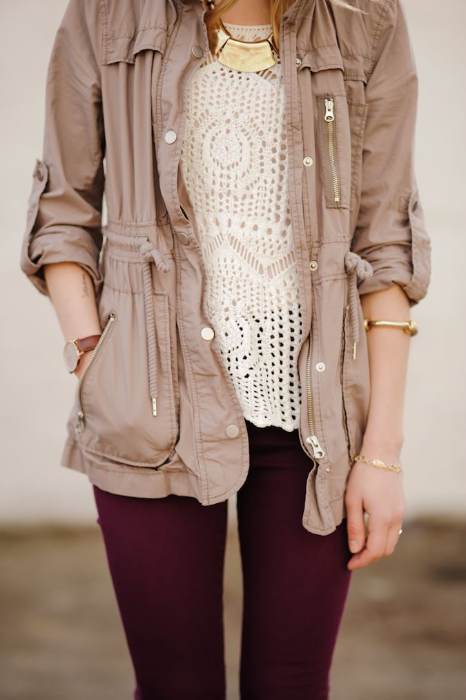 I love, love, love this mix of neutral textures from  Side Walk Ready