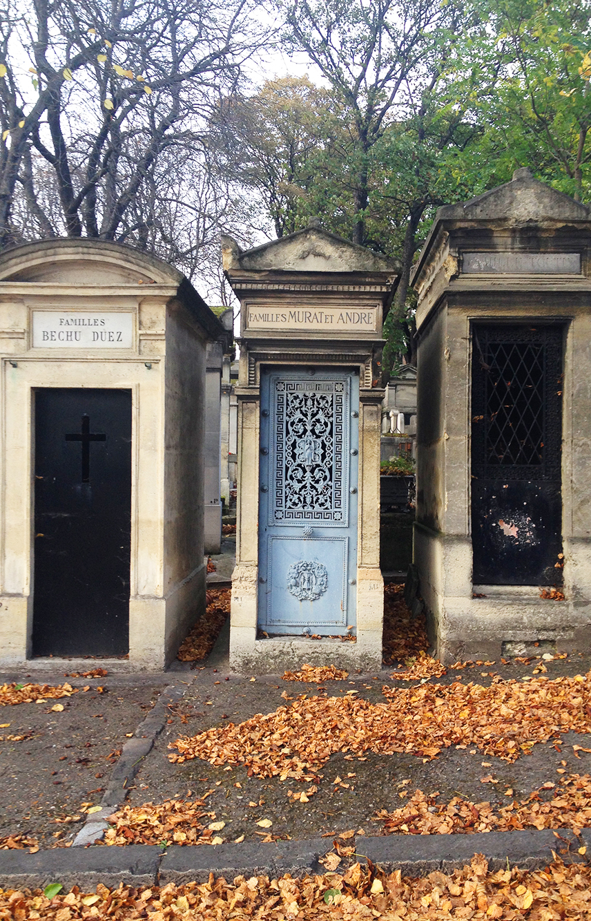 Three tombs in a row