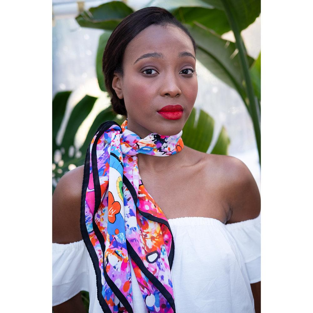 Alucinación Rosada scarf // £125