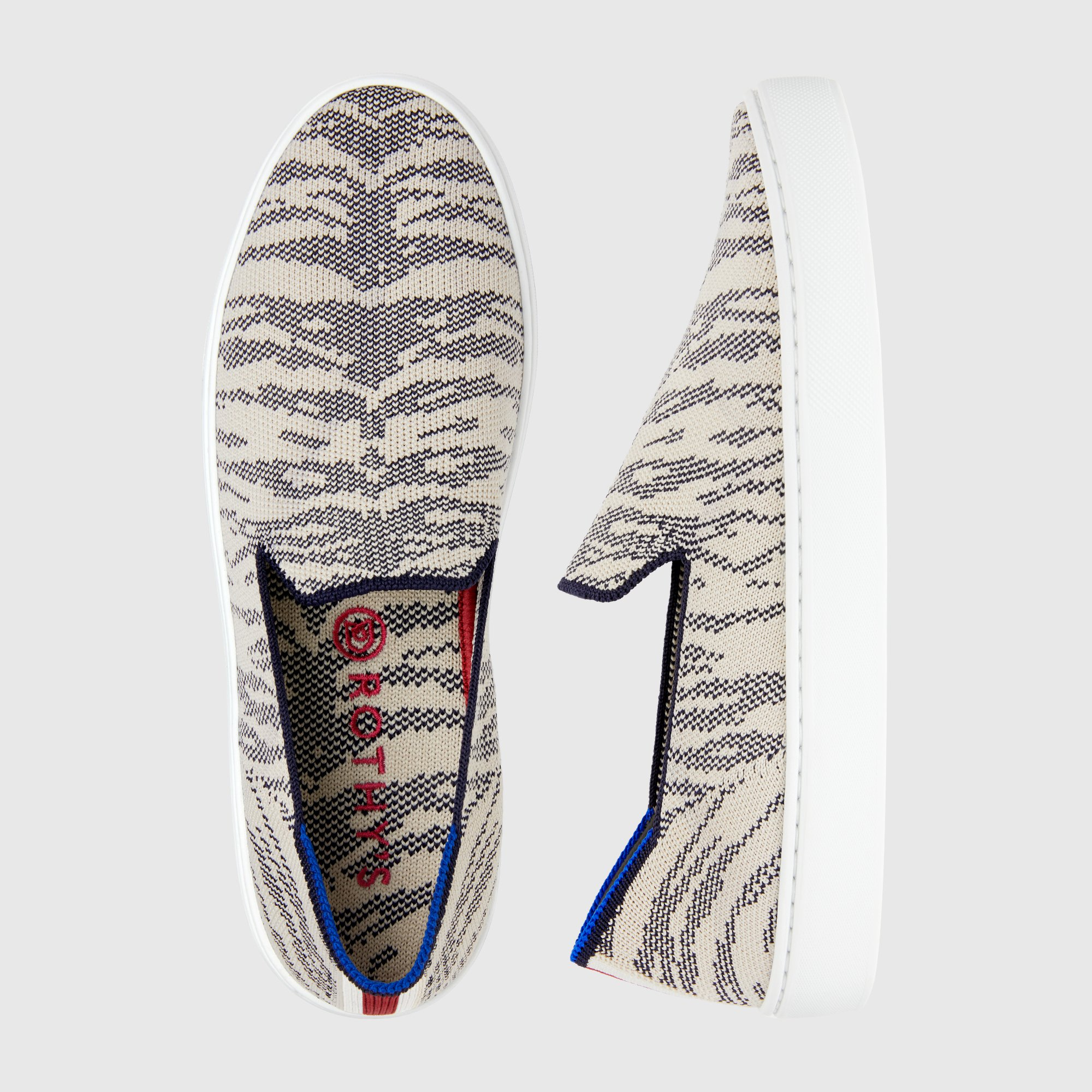 Rothy's slip ons - Maritime Tiger
