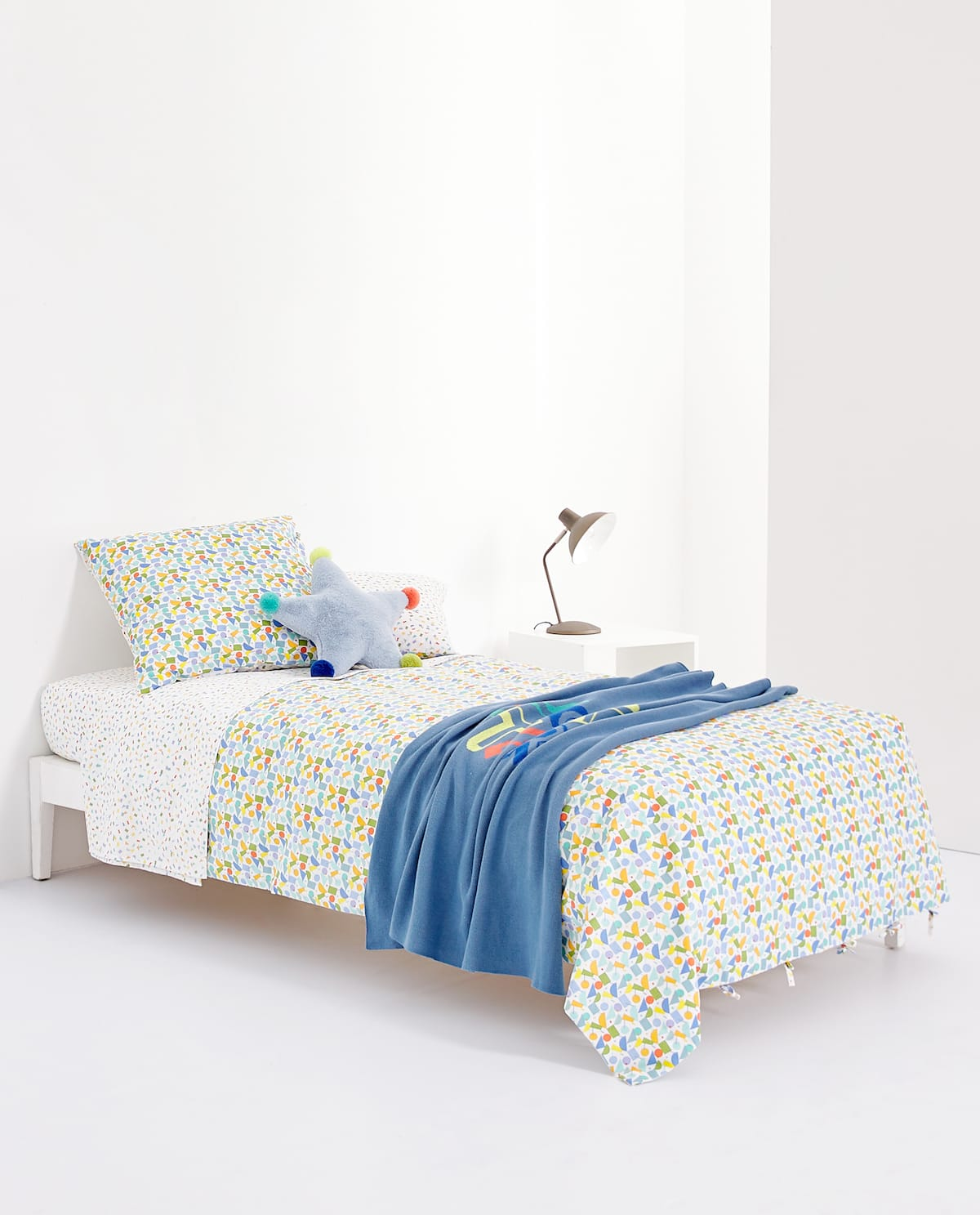 Zara kids geometric print bedding