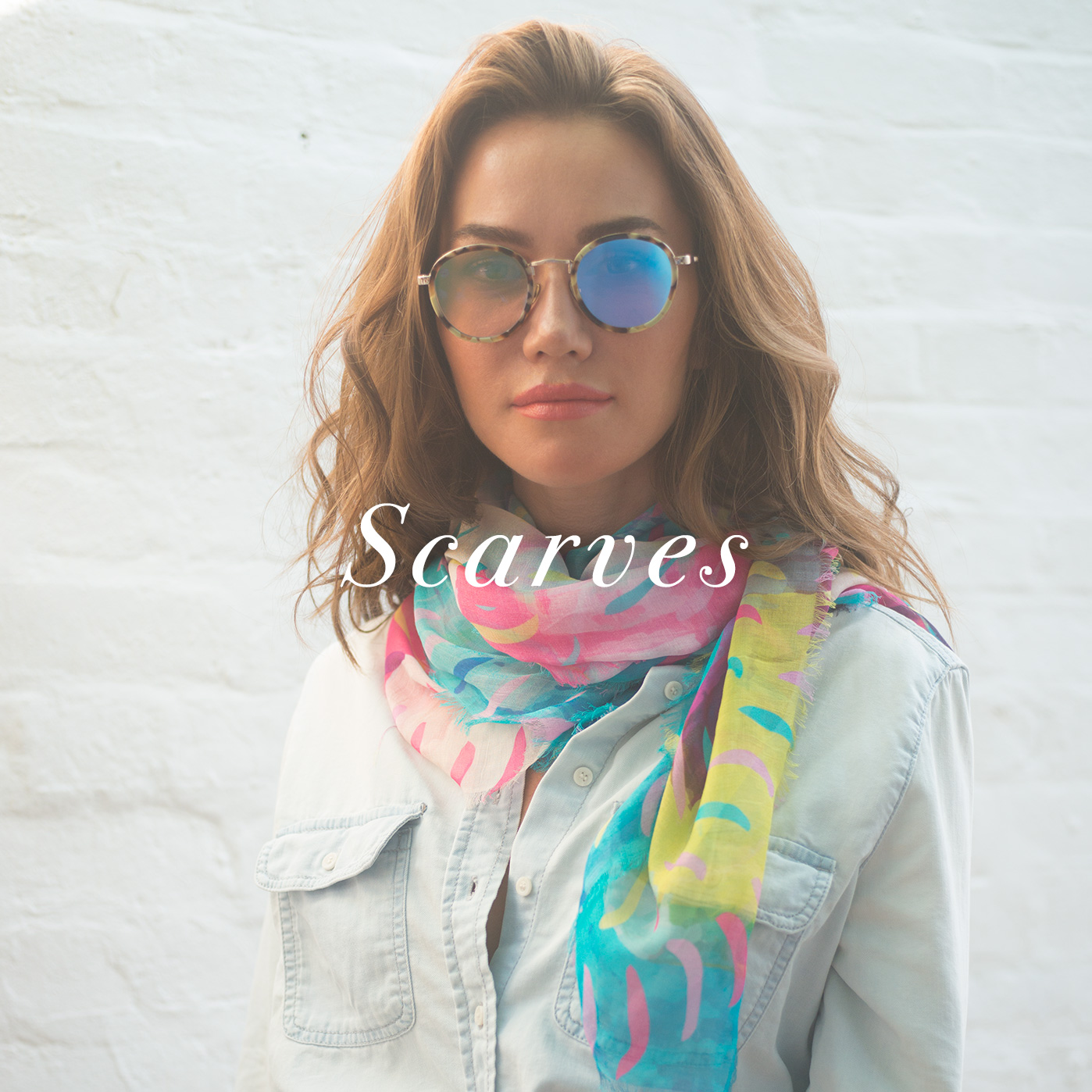 Shop scarves by Liz Nehdi