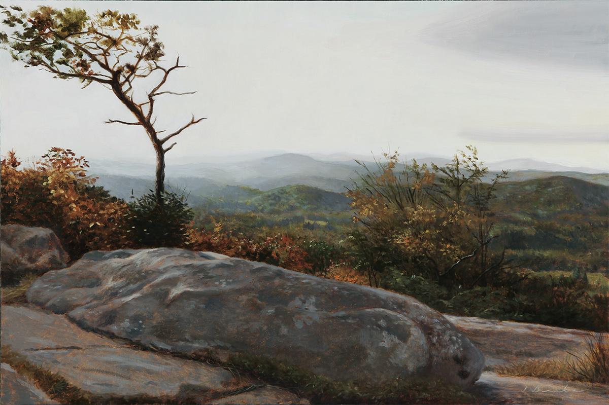 Mountain Vista - oil on linen, 16 x 24 inches