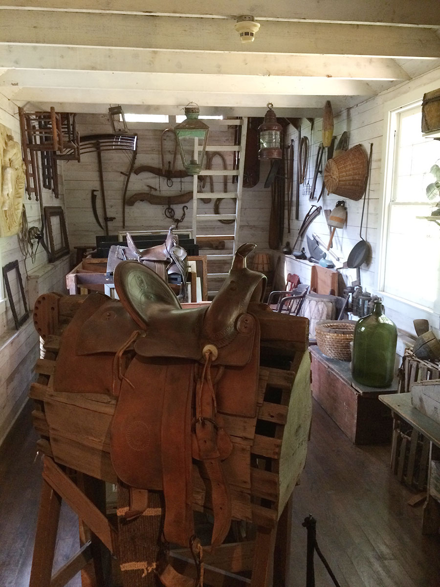 A treasure chest... NC Wyeth's room of props used for paintings