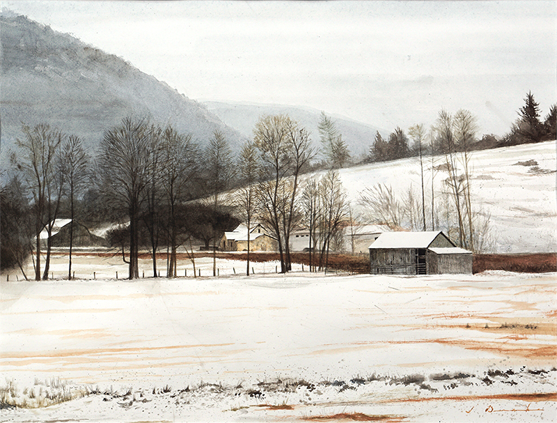 As Winter Arrives - SOLD